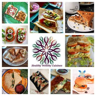 sandwich collage