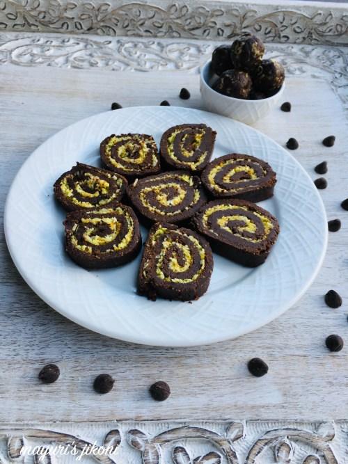 no bake chocolate swiss roll 1