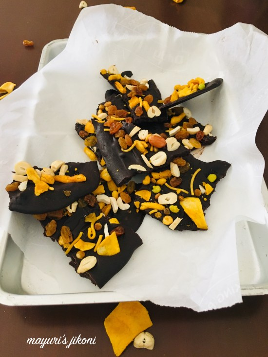 Bombay Mix Chocolate Bark 4