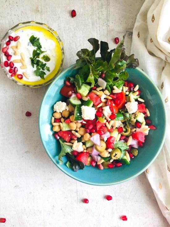 Greek Style Salad 1