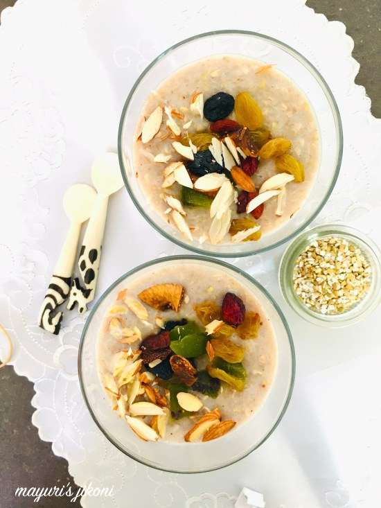 buckwheat breakfast porridge 1