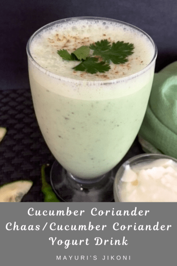 cucumber coriander Chaas