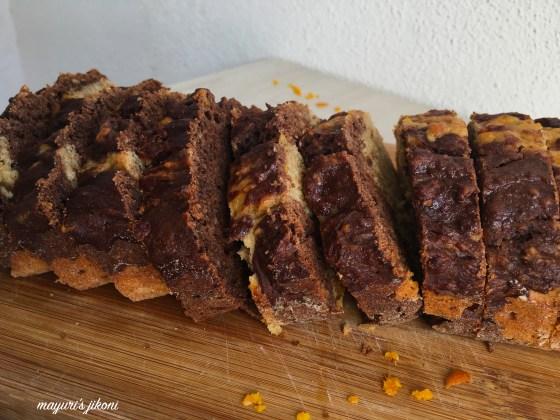marble banana cake 3
