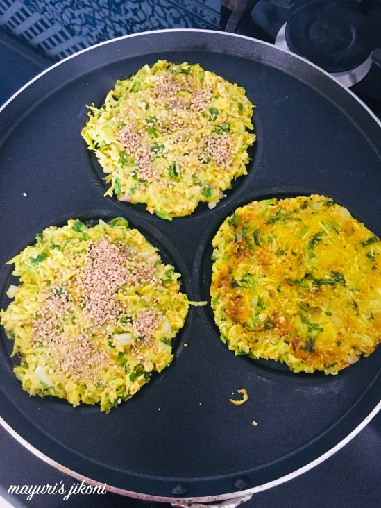 savory oat pancakes 2