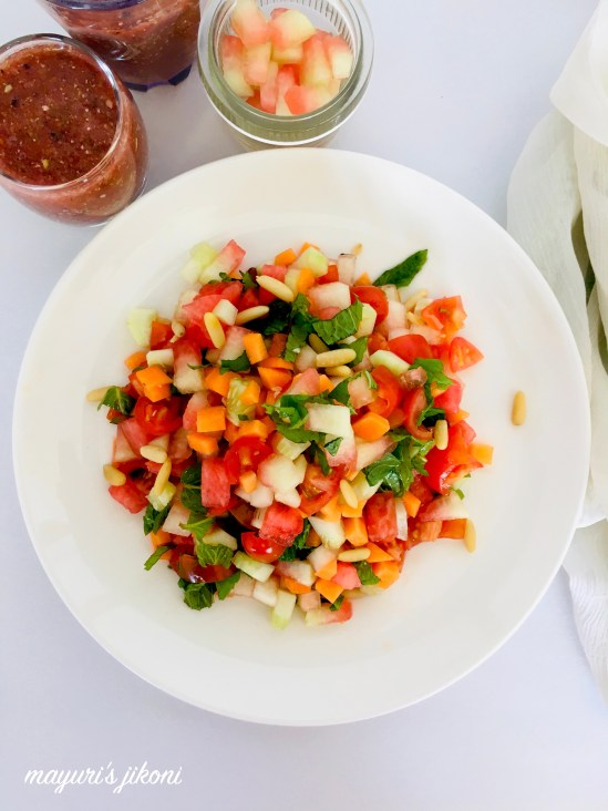 watermelon rind salad 3
