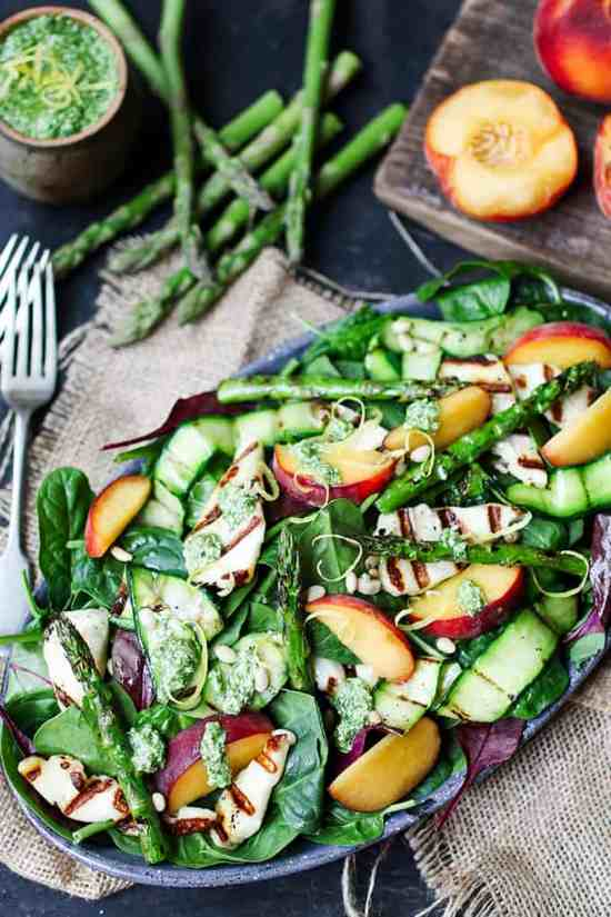 Griddled-Courgette-Halloumi-Asparagus-and-Peach-salad-Tall-FS