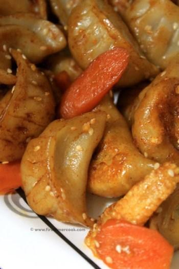 Tofu Dumpling Stir Fry 4