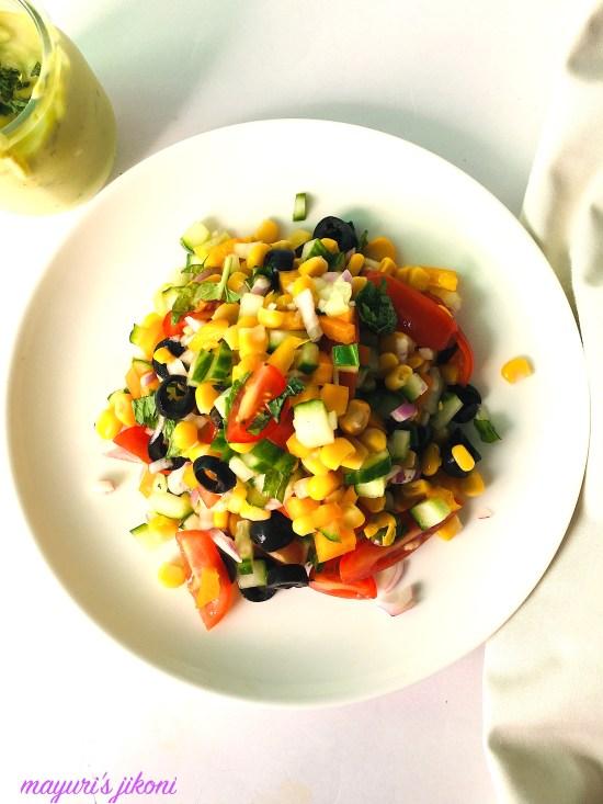 corn and tomato salad 1