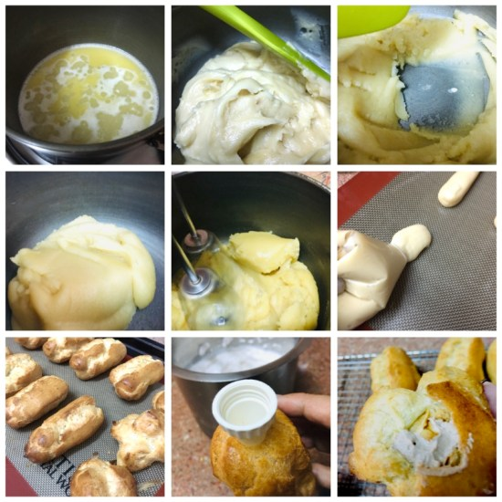 eclair collage