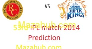 CSK vs RCB prediction