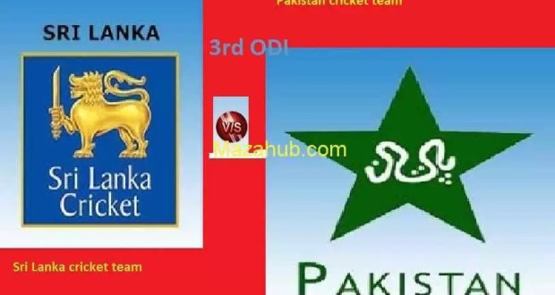 Pakistan vs Sri Lanka 3rd ODI