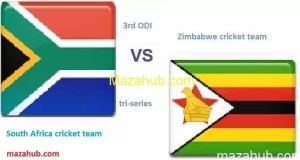 Zimbabwe vs South Africa 3rd ODI