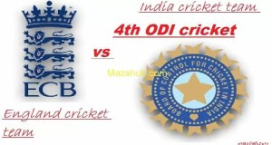 India vs England 4th ODI