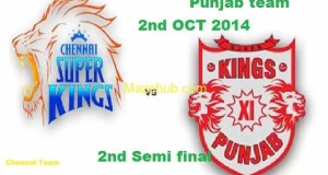 Kings XI Punjab vs Chennai Super Kings Semi Final 2