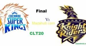 Kolkata Knight Riders vs Chennai Super Kings Final CLT20