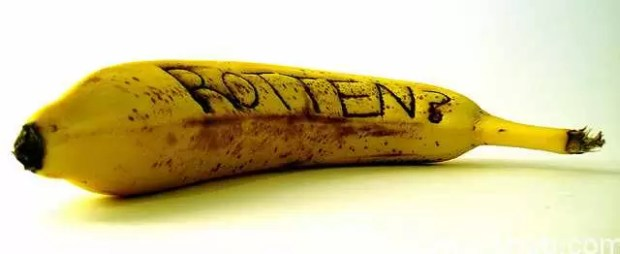 Prevent Banana's from being rotten
