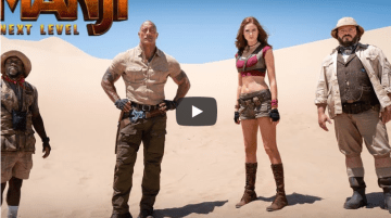 Jumanji 2 Trailer and Movie