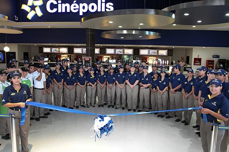 Empresa Cinepolis Historia Cheap Presencia De Cinemark En