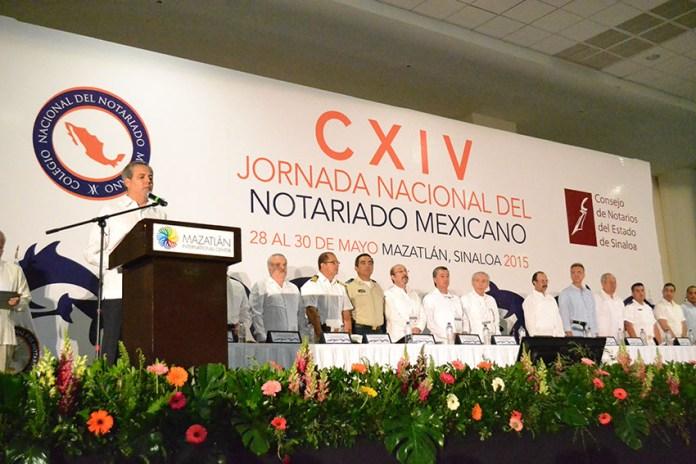 Resultado de imagen para Jornada Nacional del Notariado Mexicano