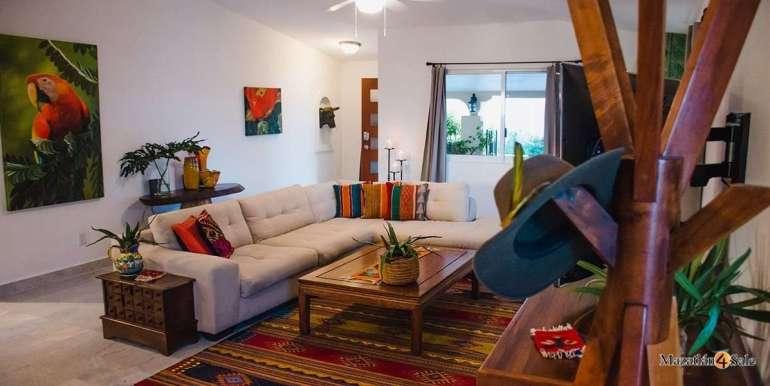Mazatlan-Real-Estate-3 bedrooms in Playa Linda House For Sale-2