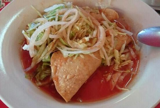 tacos de mariscos en Mazatlán - taco dorado camarón