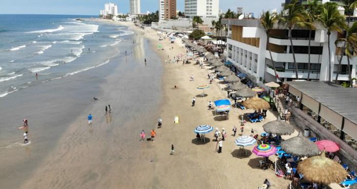 Playas en Zona Dorada Mazatlán