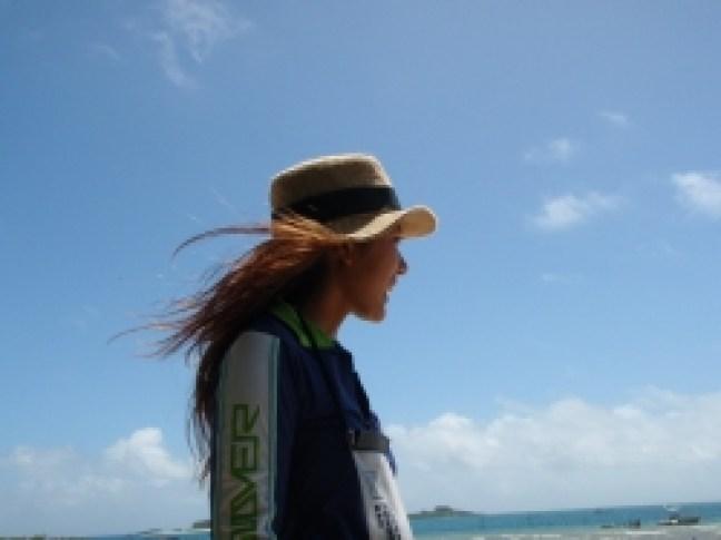 南浮原島へ