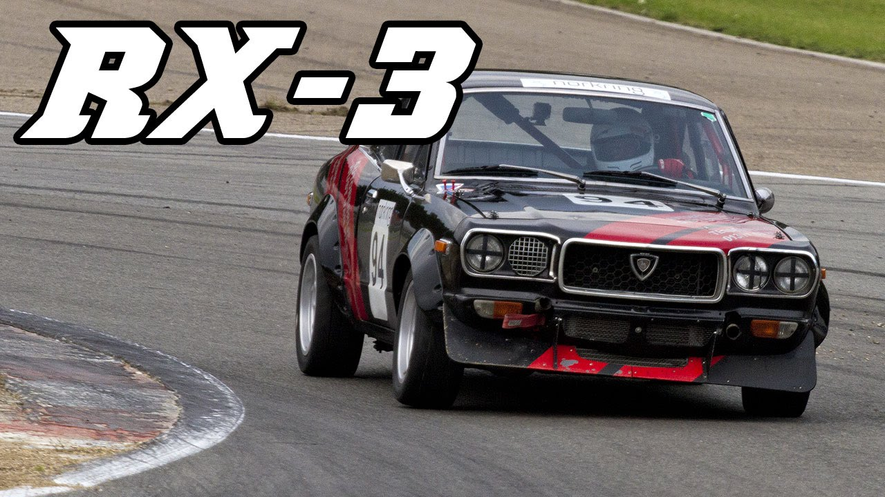 Blast Those Speakers!! Mazda RX-3 at SPA 2015