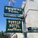 Tucson diving girl neon sign