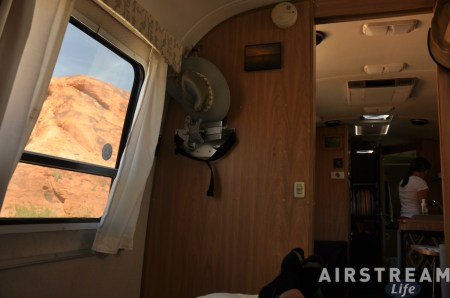 Valley of Fire Airstream view