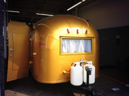 Airstream Wallys Gold Trailer