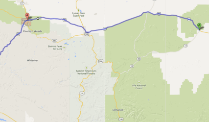 NM-AZ route