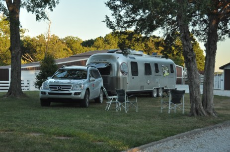 New Florence MO Airstream courtesy park