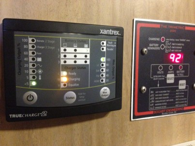 Xantrex remote panel installed