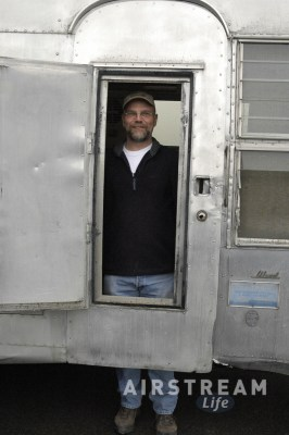 Colin Hyde in Airstream