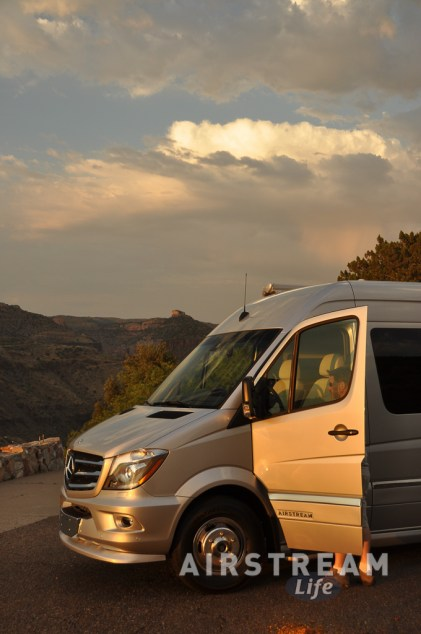Airstream Interstate Salt River canyon