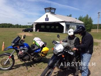 ADK airport motorcycles