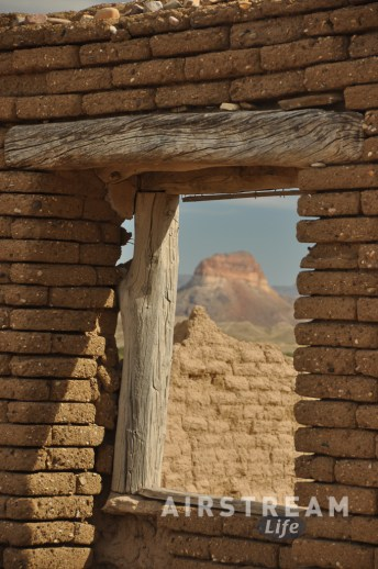 Big Bend house ruin view