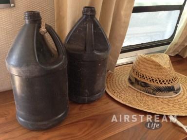 Organ Pipe black water bottles