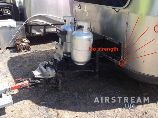 Airstream front hatch ext before