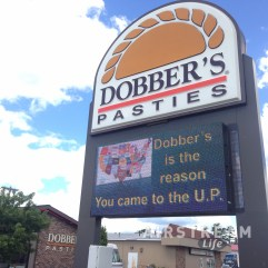 Escanaba WI Dobbers Pasties