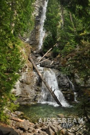 Stehehkin Rainbow Falls