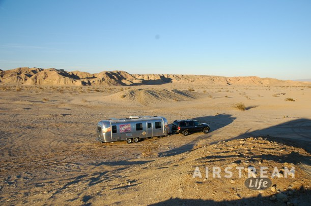 Anza Borrego Airstream solitude