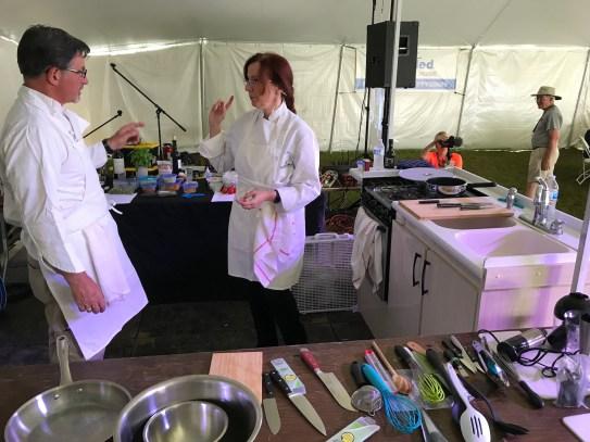 APZ10 Eleanor Brett culinary seminar