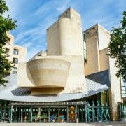 Légende : La Cinémathèque française pendant l'exposition « Mômes & Cie », Paris 2017. Source : Capelle Tourn / Ooshot / CRT Paris Ile-de-France.