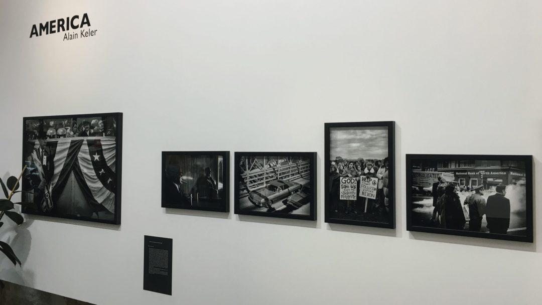 Vue de l'exposition America, Fisheye Gallery © Laure-Anne Ricaud