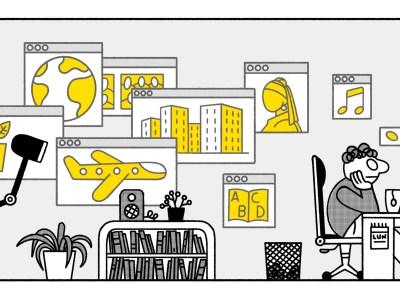"""Illustration """"Autrement Dit"""" - Claude Joyeux"""
