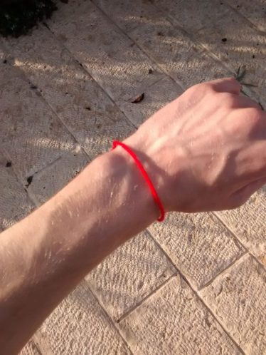 Put this bracelet on and make a wish.