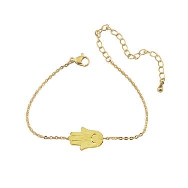 Hamsa Bracelet for Protection & Luck