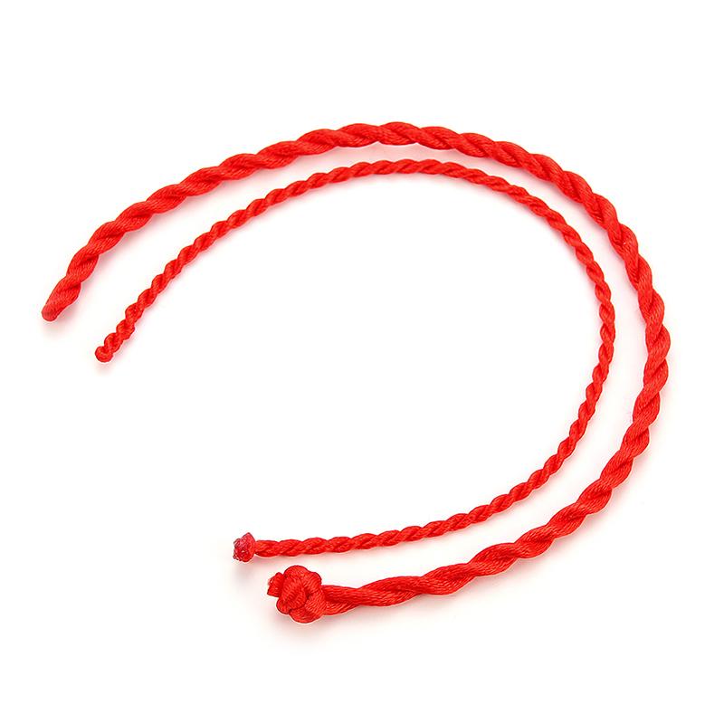 red string braded luck bracelet 3